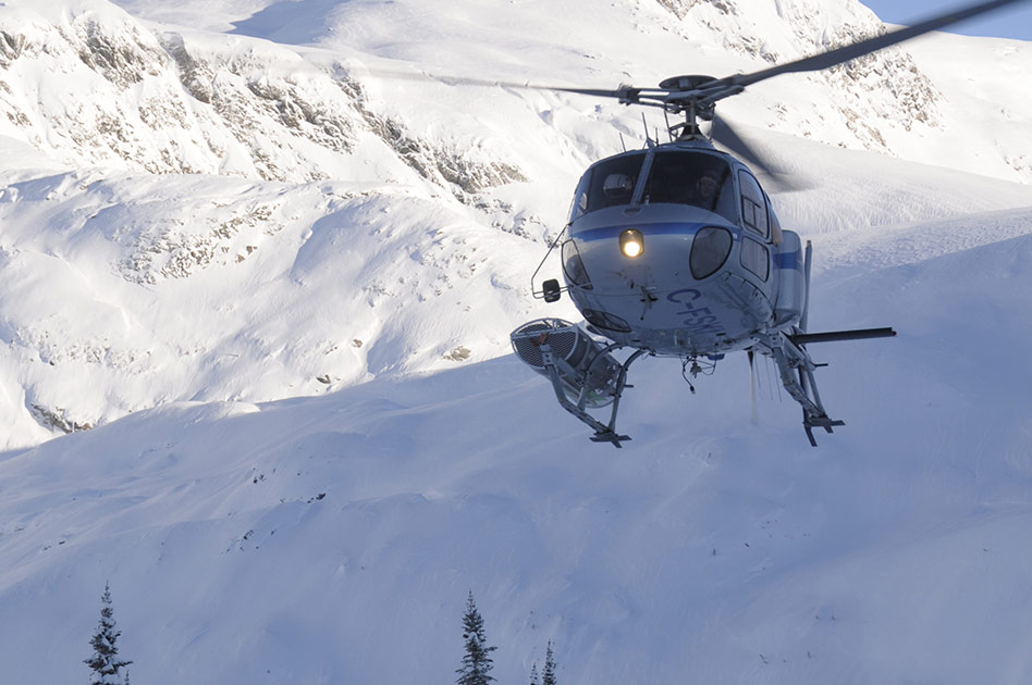 How to get to Revelstoke in winter
