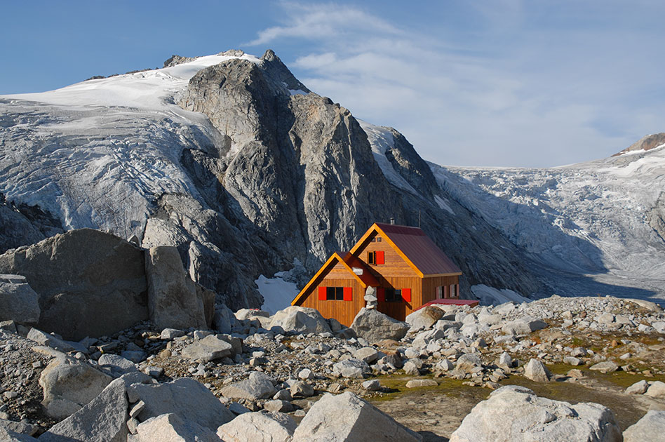 Kanadisches Wander Paradies - Moloch Chalet