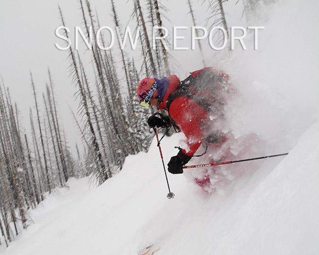 Durrand Glacier snow report