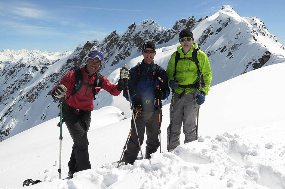 April 26, 2015 - Skiing at the Durrand Glacier Chalet