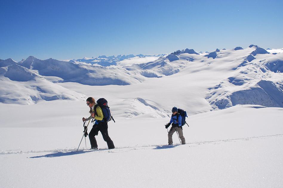 Das Durrand Glacier Chalet