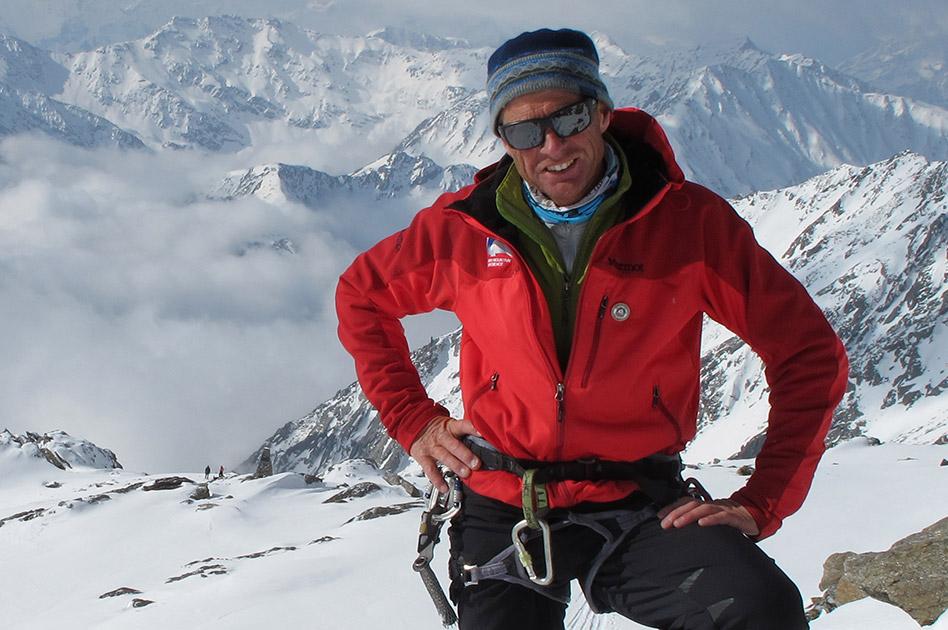 Ruedi Beglinger, Bergführer - Selkirk Mountain Experience