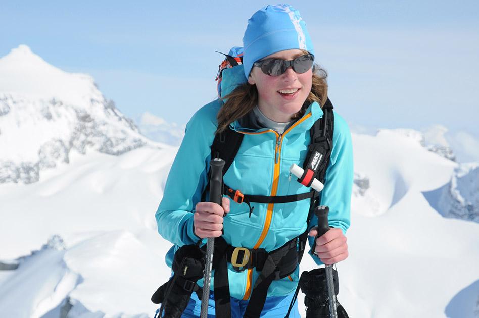 Florina Beglinger - Selkirk Mountain Experience