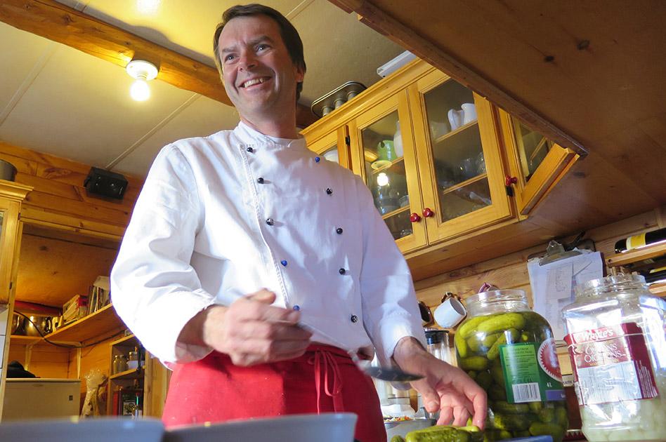 Engelbert Unger, Küchenchef - Selkirk Mountain Experience