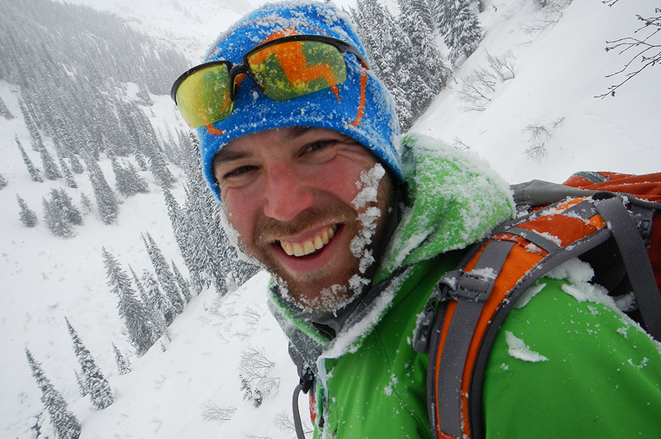 Alex Geary, Mountain Guide - Selkirk Mountain Experience