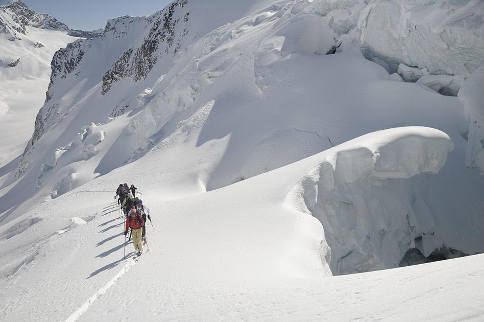 Das gefundene Pulverschneeparadies - Durrand Glacier Chalet