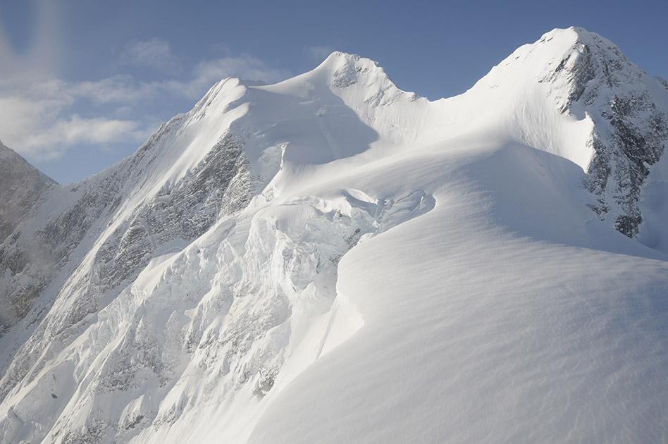 Das Skitourengebiet -  Durrand Glacier Chalet