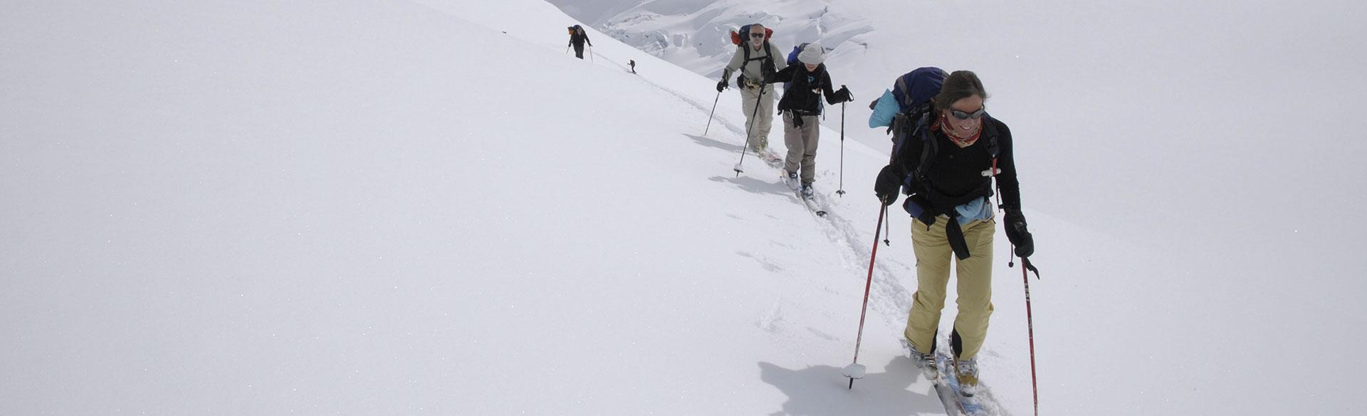 Skitouren im berühmten Pulverschnee von Kanada